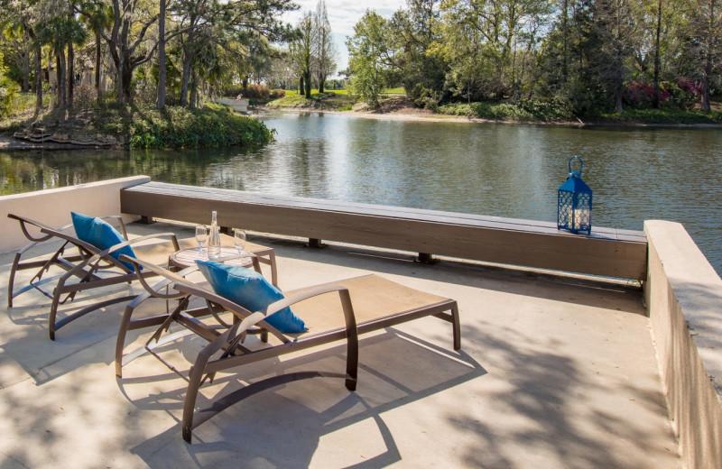 Deck at Villas of Grand Cypress.