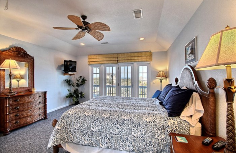 Luxurious Bedroom at Hatteras Realty