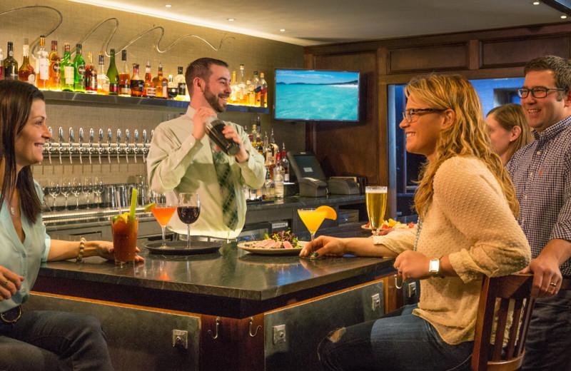 Bar at The Green Mountain Inn.