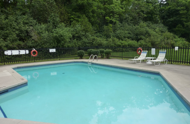 Outdoor pool at The Westover Inn.