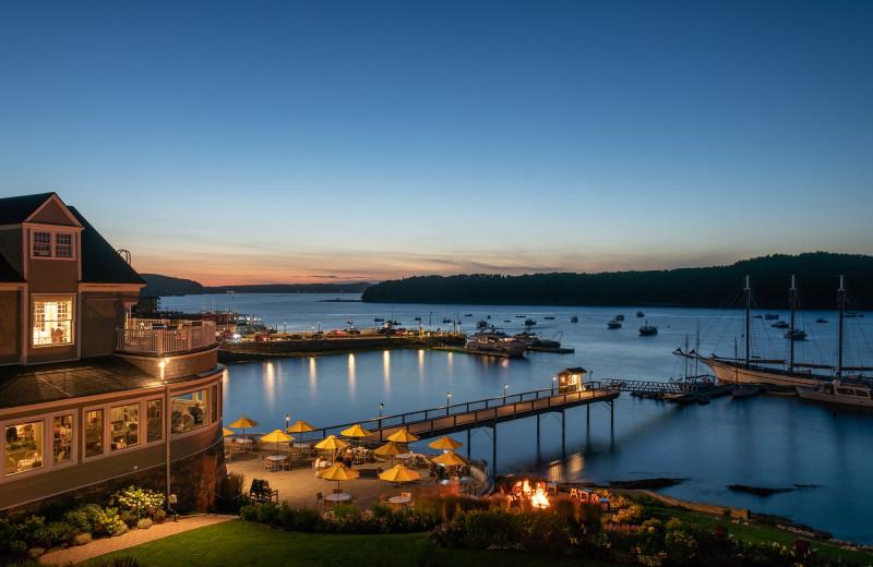 View from Bar Harbor Inn