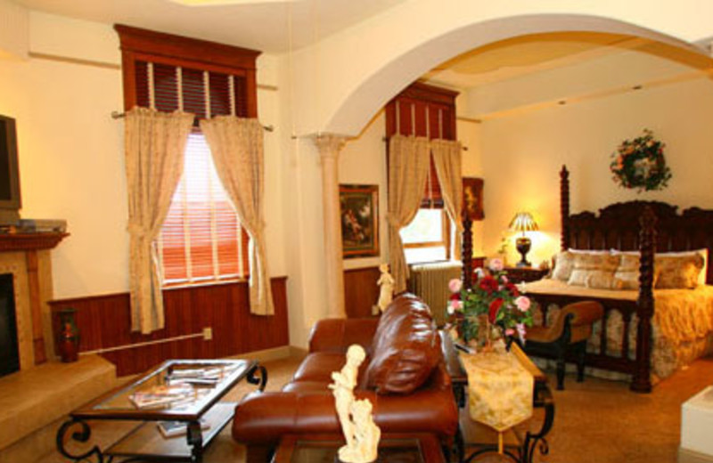 Gov. Ralph Carr Spa Suite at Carr Manor Historic Inn.