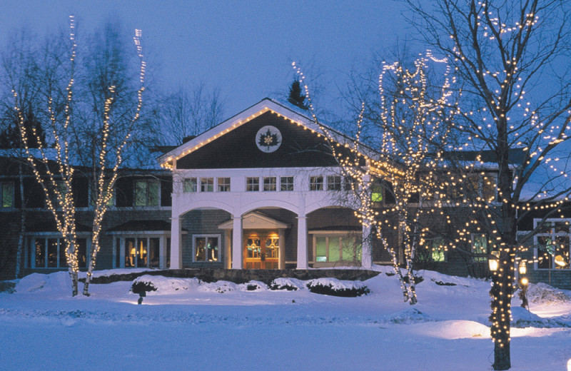 Winter time at Stoweflake Mountain Resort & Spa.