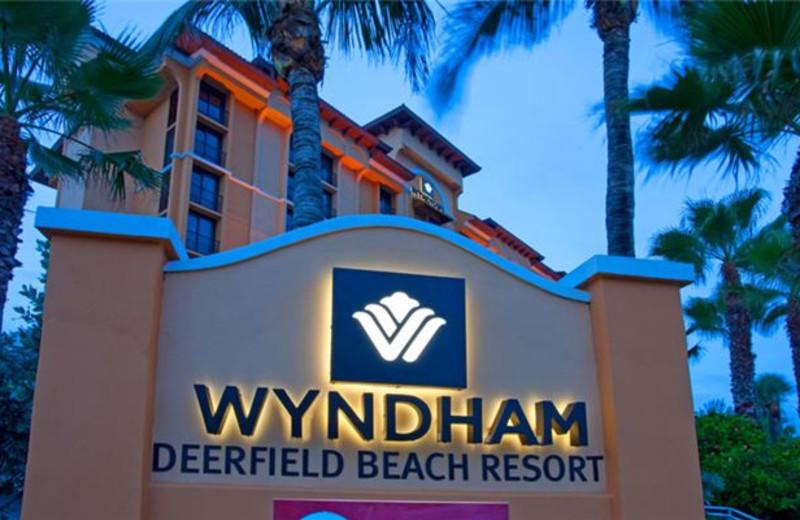 Exterior View of Wyndham Deerfield Beach Resort
