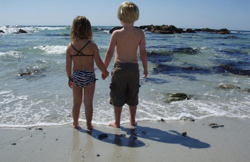 Day at the beach near Carmel Lodge.