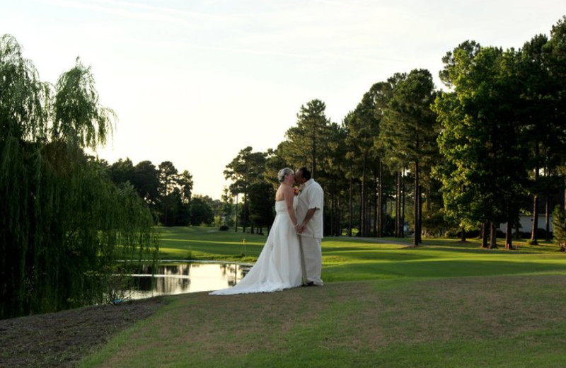 Wedding at Brunswick Plantation Resort.