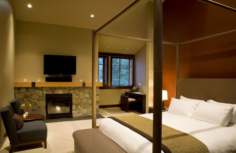 Guest suite at Nita Lake Lodge.
