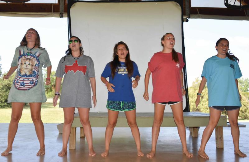 Dance at Camp Balcones Spring.