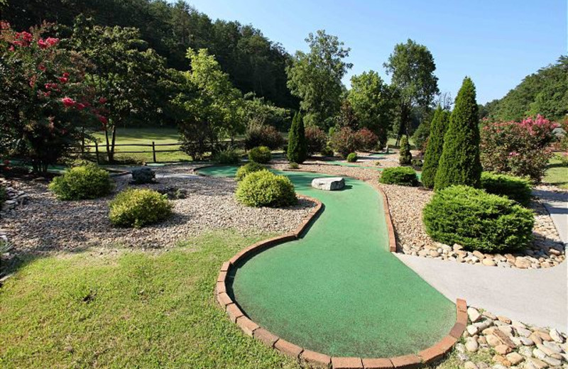 Mini golf at Eden Crest Vacation Rentals, Inc.