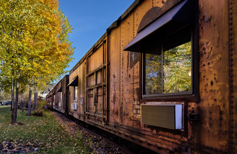 Exterior View of Northern Rail Traincar Inn