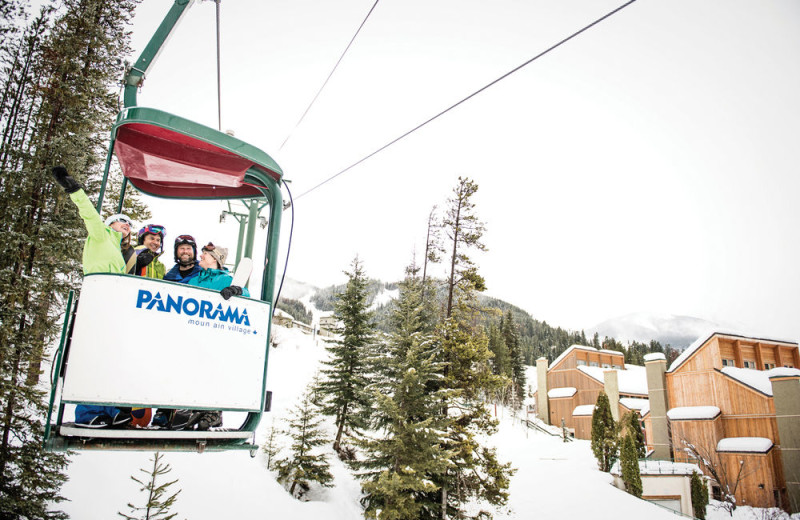 Skiing at Panorama Mountain Resort.