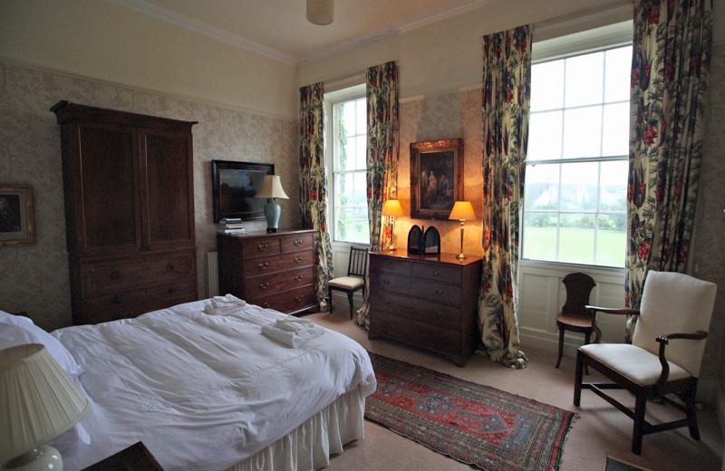Guest room at Longlands at Cartmel.