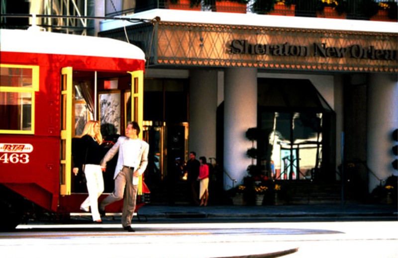 Exterior View at Sheraton New Orleans Hotel