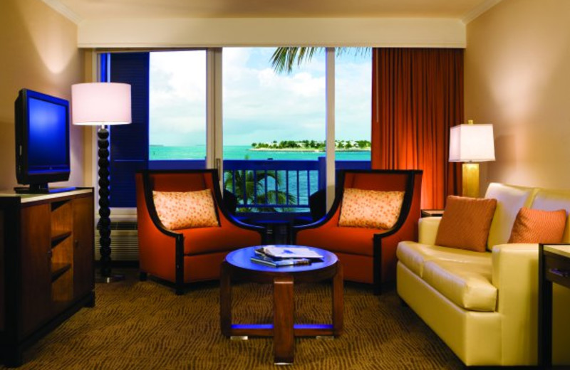 Suite interior at The Westin Key West Resort.