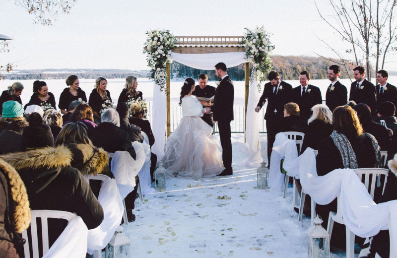 Weddings at Elmhirst's Resort.