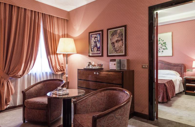 Guest room at Doria Grand Hotel.