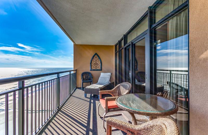 Balcony at Luxury Beach Rentals, LLC.