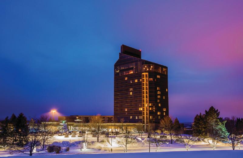 Winter at Grand Traverse Resort and Spa.