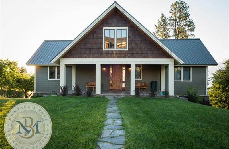 Rental exterior at Montana's Best Vacation Rentals LLC.