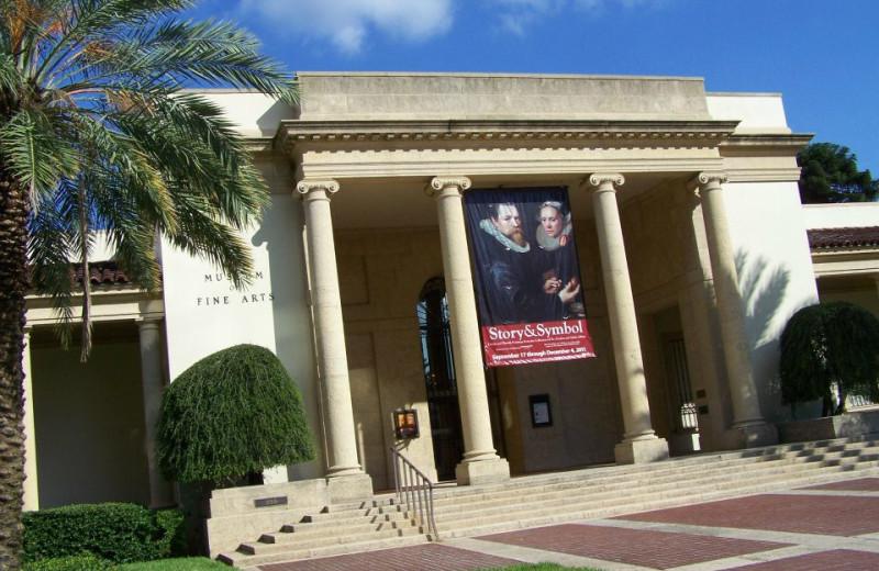 Fine Arts Museum near Gulf Winds Resort Condominiums.