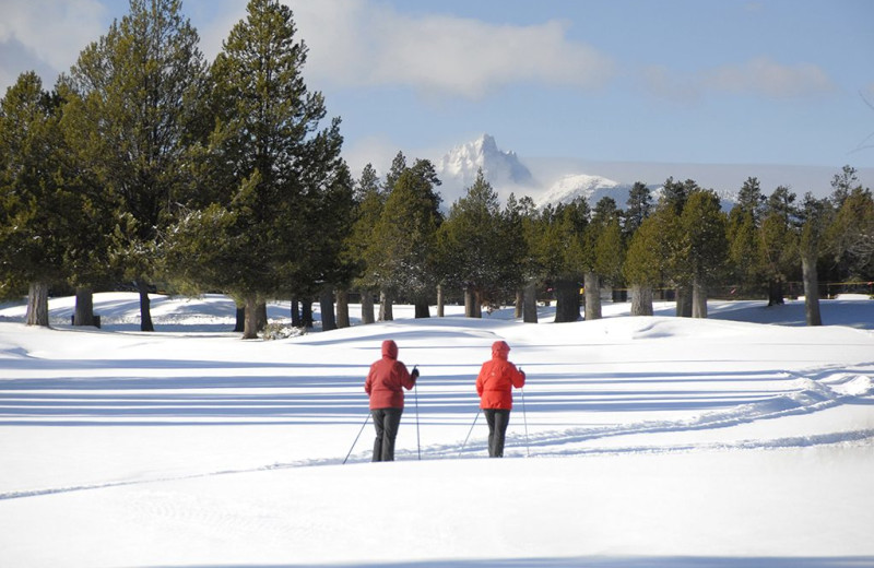 Skiing at Black Butte Ranch.