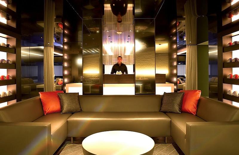 Lounge at Solaris Residences.