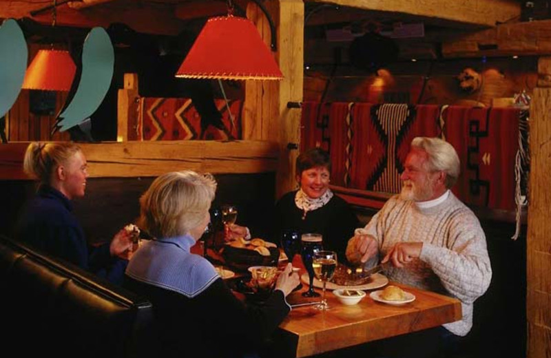 Dining at The Mountain Inn.
