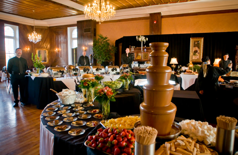 Sunday Brunch with entertainment all year long at The 1886 Crescent Hotel & Spa.