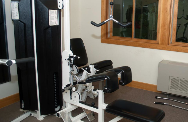Fitness room at Minnewaska Lodge.