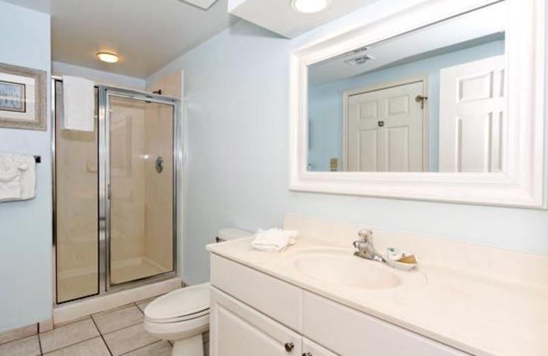 Bathroom View at Waterside Resort
