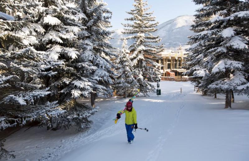 Skiing at Sky Hotel