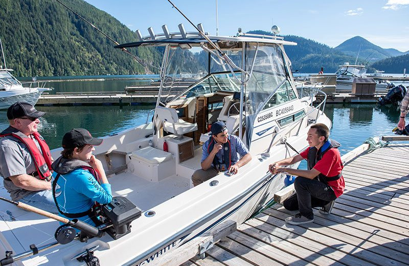 Boating at Nootka Marine Adventures.