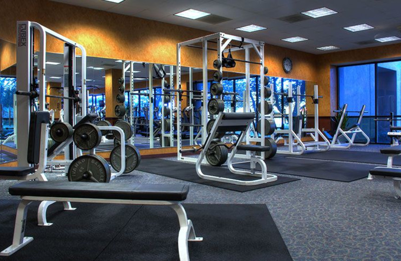 State-of-the-Art Fitness Center at NCED Conference Center and Hotel