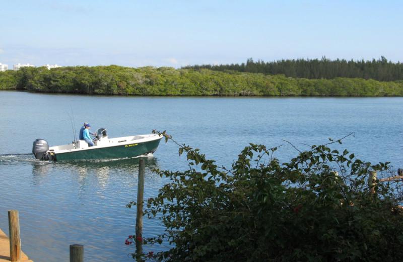 Fishing at Turtle Beach Resort.