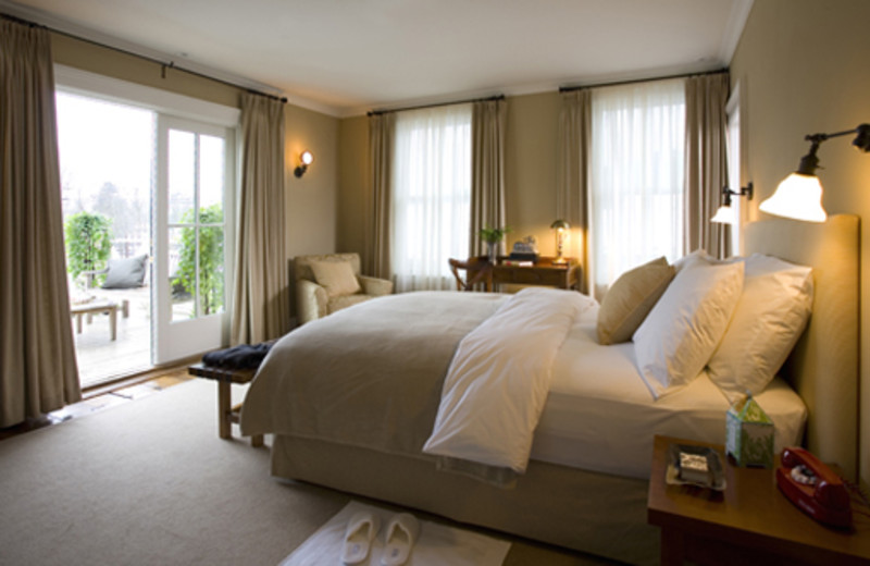 Guest Room at the Hotel Fauchere