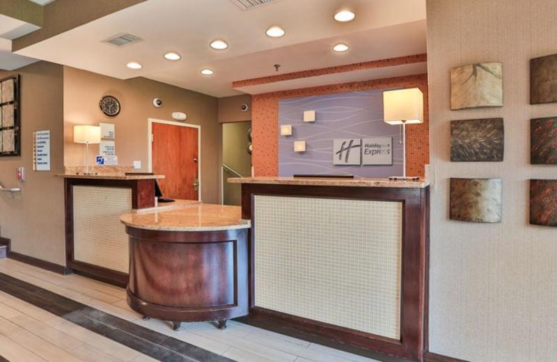 Front Desk at Holiday Inn Express Saugus (Logan Airport)