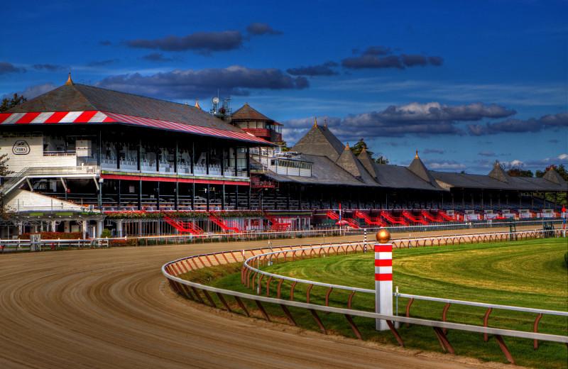Saratoga Race Track near Batcheller Mansion Inn Bed and Breakfast.