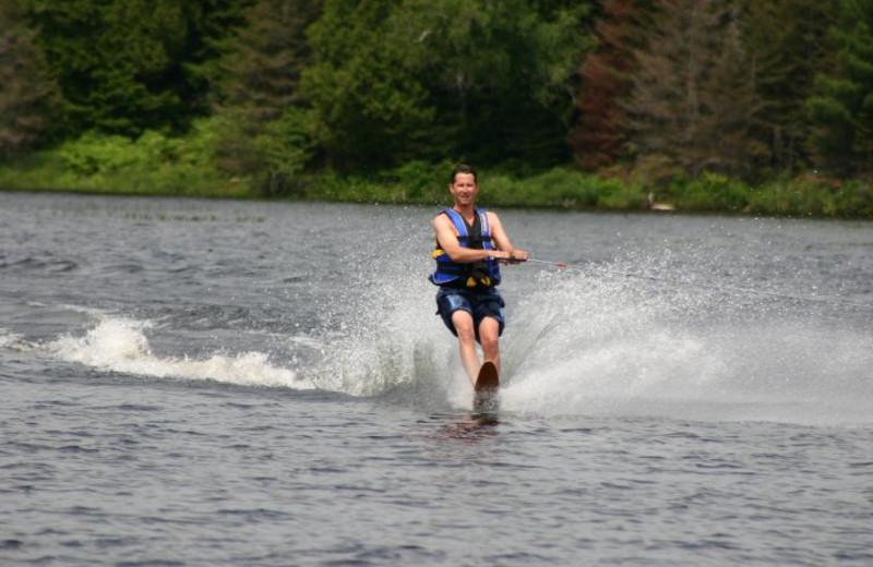 Waterskiing at Beaverland Camp