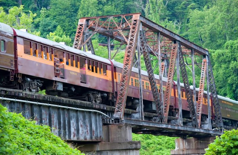 Great Smoky Mountain Railroad near SmokyMountains.com.