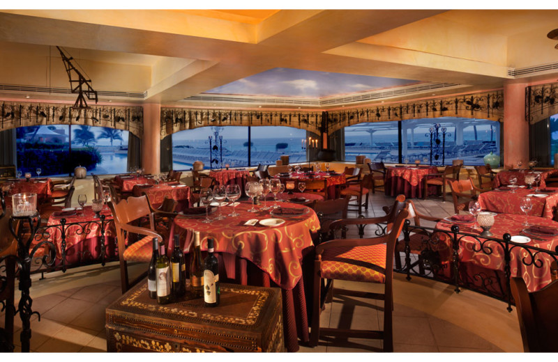 Dining at Omni Cancun Hotel & Villas.