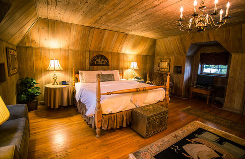 Guest suite at The French Manor Inn and Spa.