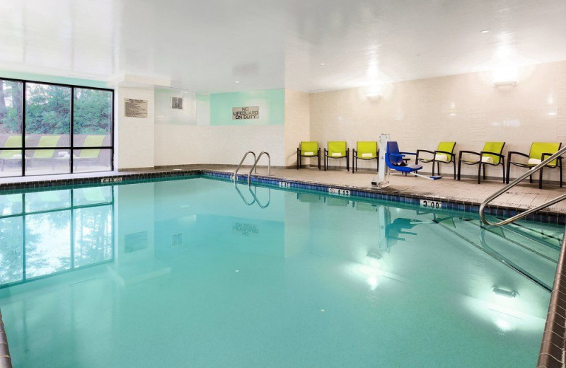 Indoor pool at SpringHill Suites by Marriott Flagstaff.