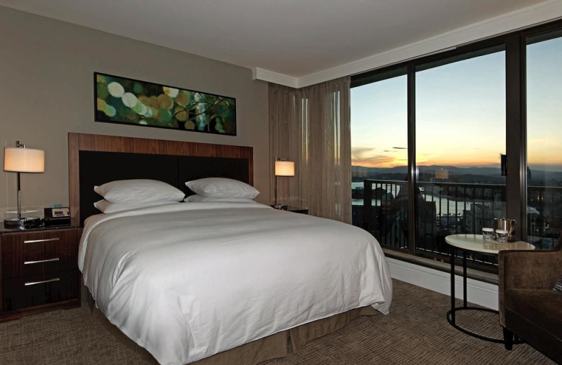 Guest room at Executive House Hotel.