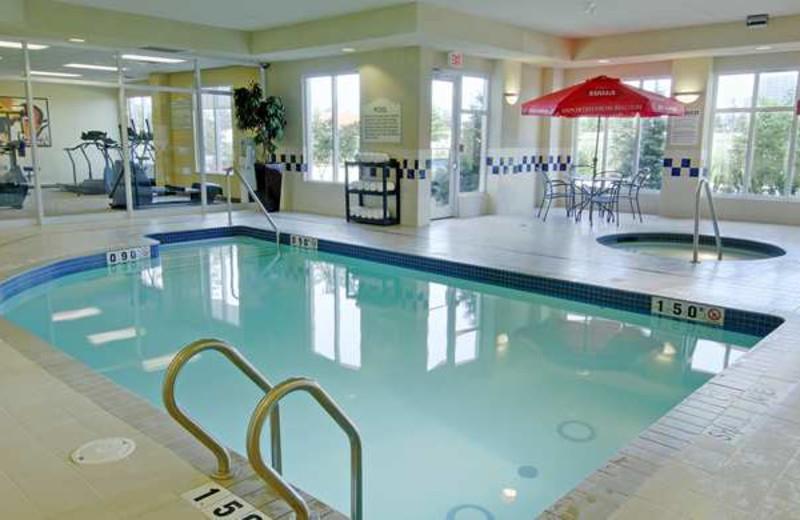 Indoor Pool at the Hilton Garden Inn Toronto/Burlington