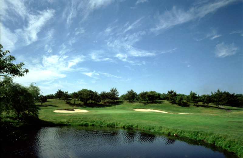 Golf course at Surf Club.
