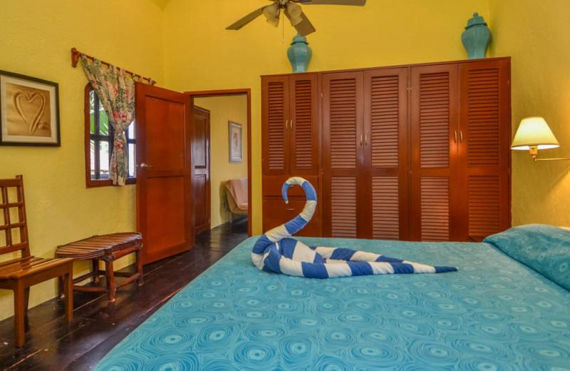 Rental bedroom at Casa Iguana.