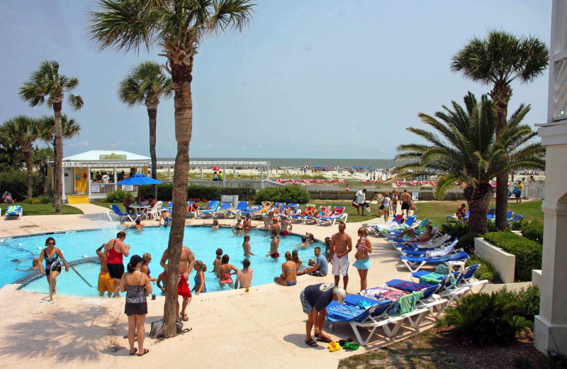 Outdoor pool at Fripp Island Golf & Beach Resort.