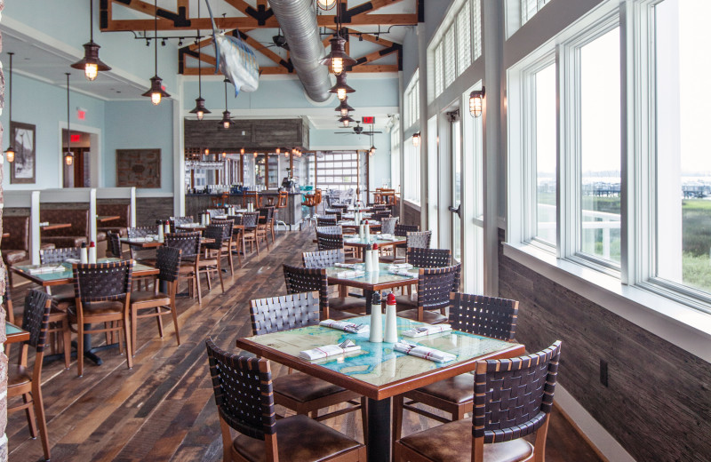 Dining at Charleston Harbor Resort