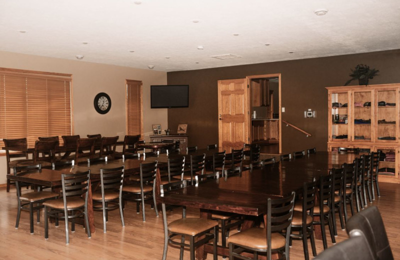 Lodge dining room at Granite Springs Lodge.