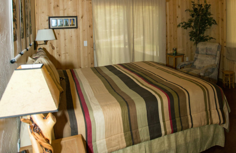 Guest room at DiamondStone Guest Lodges.